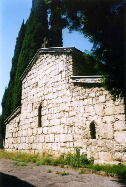 Храм VI века в Гаграх